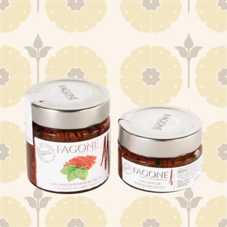 Capuliato di pomodori secco Fagone - Delicatessen in Drogheria a Ragusa - Spesa online