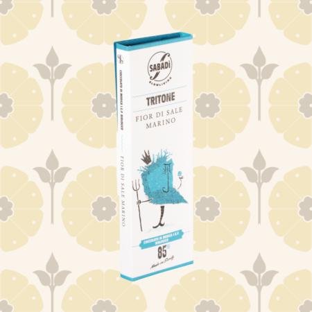 Cioccolato di Modica al sale IGP biologico - Tritone - Delicatessen in Drogheria a Ragusa - Spesa online