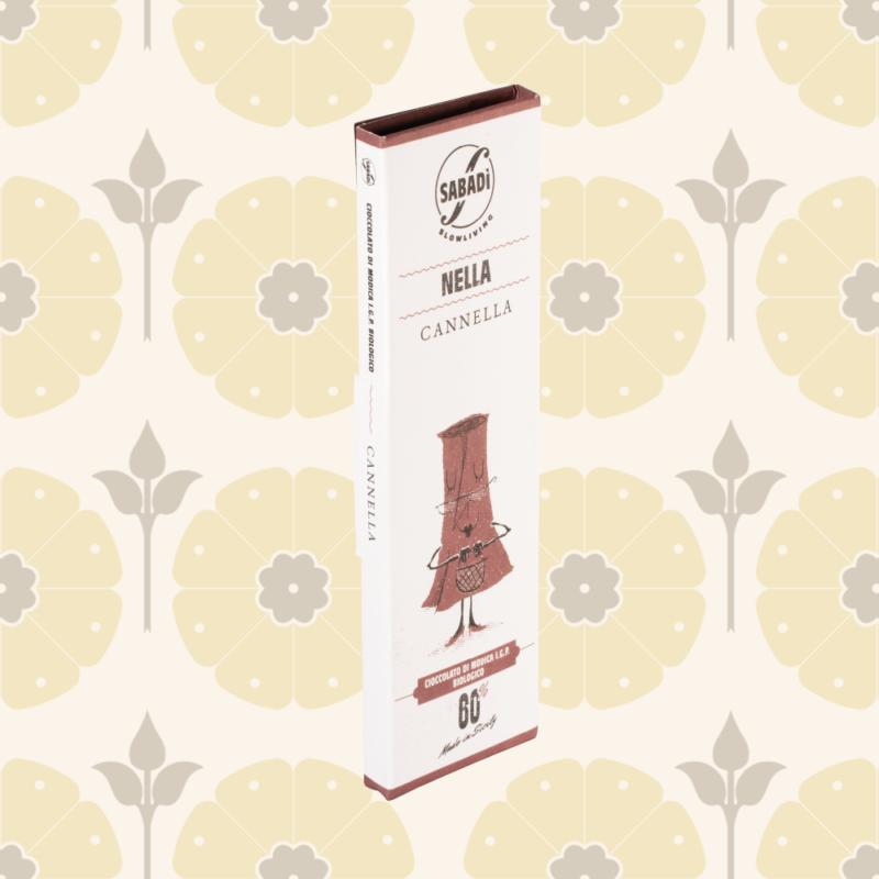 Cioccolato di Modica alla cannella IGP biologico - Nella - Delicatessen in Drogheria a Ragusa - Spesa online