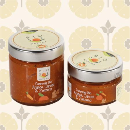 Confettura BIO di arance, carote e zenzero - Delicatessen in Drogheria a Ragusa - Spesa online