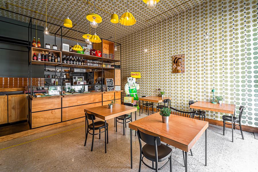 Delicatessen in drogheria - Ristorante a Ragusa - tavoli e posti a sedere - Pranzo e cena - Gastronomia