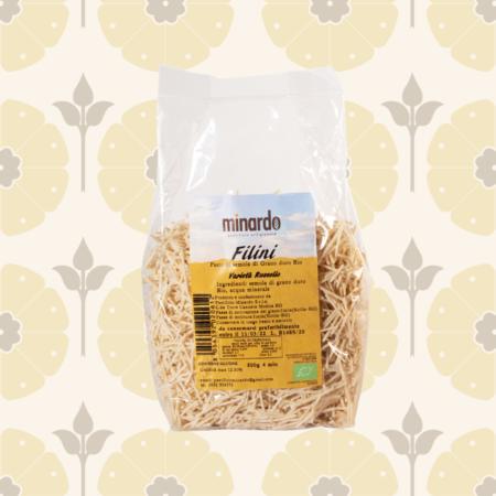 Filini di semola di grano duro BIO - Russello - Delicatessen in Drogheria a Ragusa - Spesa online