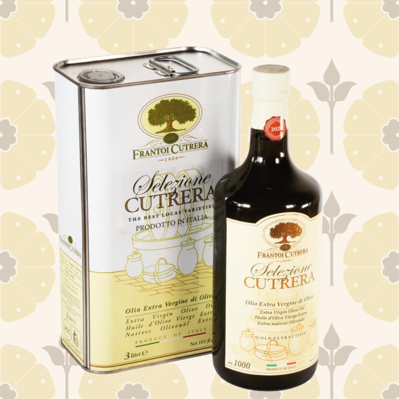Olio extravergine di oliva selezione Frantoi Cutrera - Delicatessen in Drogheria a Ragusa - Spesa online