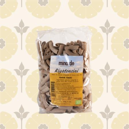 Rigatoncini di semola integrale di grano duro BIO - Timilia - Delicatessen in Drogheria a Ragusa - Spesa online